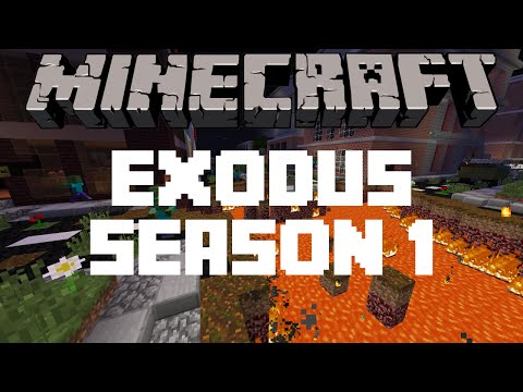 Minecraft Map - Exodus - Gas and Supplies - Part 2