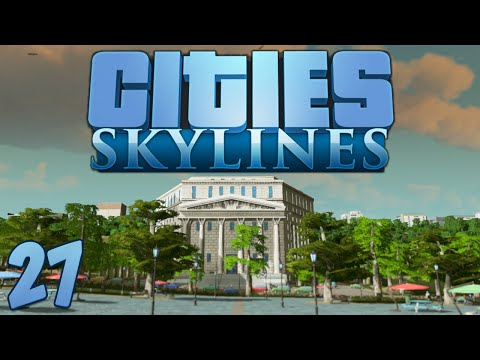 Cities Skylines 27 Space Elevator