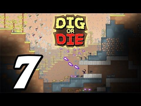 Dig or Die - Episode 7 - Rocket Auto-Builder! (Gameplay / Walkthrough / 1080p)