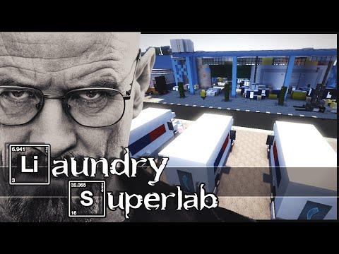 Minecraft - Breaking Bad : Laundry & Superlab