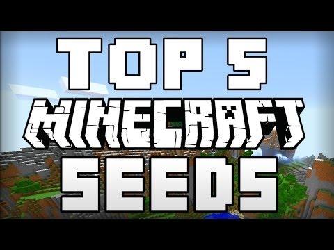 TOP 5 SEEDS for MINECRAFT 1.8.3 | Best World Seeds, World Generation
