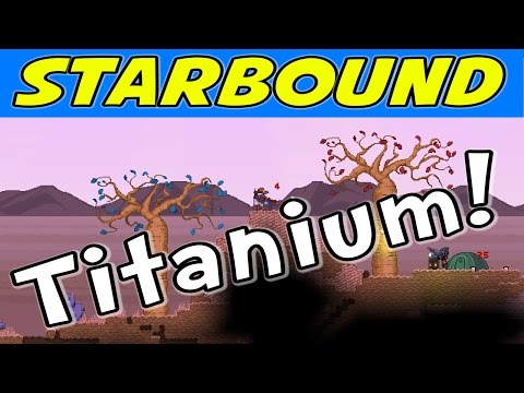 Starbound - E09 - Finding Titanium! (1080p Gameplay / Walkthrough)