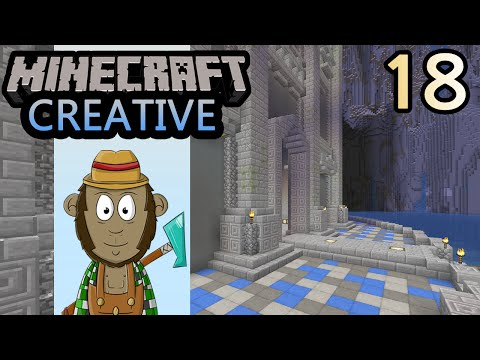 Minecraft Hobbit Dwarf Castle Pt. 2 - 4th World #18