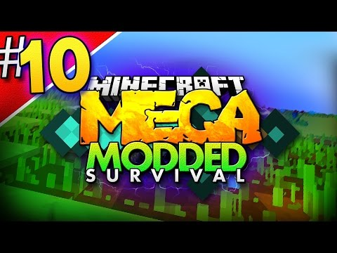 Minecraft MEGA Modded Survival #10 | A NEW START?... - Minecraft Mod Pack