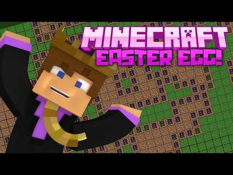 Minecraft: MINESCREEPER! (Minecraft April Fools Easter Egg)