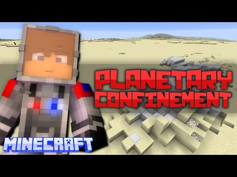 Minecraft: Planetary Confinement - The Dunes #14 - PYRAMIDS!
