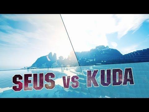 Shader Pack Comparison: SEUS vs KUDA - Minecraft Mods / Best Minecraft Shaders 1.8 / 1.7