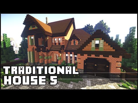 Minecraft - Traditional House 5