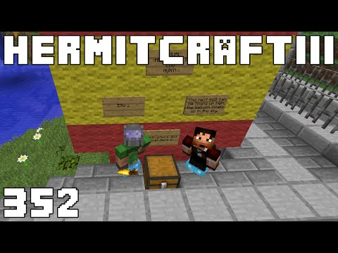 Hermitcraft III 352 Around The Hills In Twenty Minutes