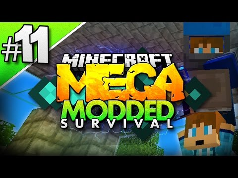 Minecraft MEGA Modded Survival #11 | MEET Mini-MU! - Minecraft Mod Pack