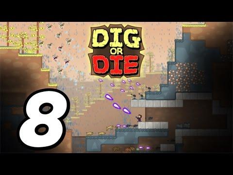 Dig or Die - Episode 8 - Rocket Ship Escape!! (Gameplay / Walkthrough / 1080p)