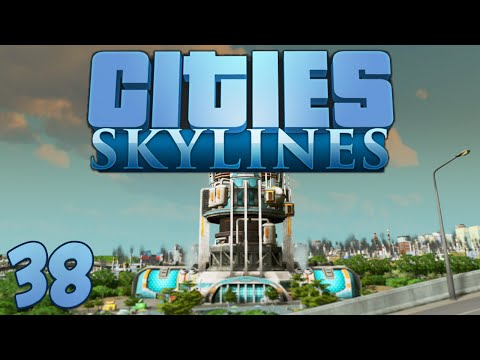 Cities Skylines 38 Fusion Power Plant