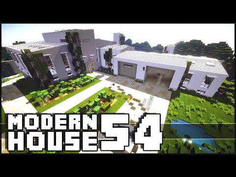 Minecraft - Modern House 54