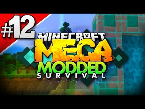 Minecraft MEGA Modded Survival #12 | FACECAM!!! - Minecraft Mod Pack