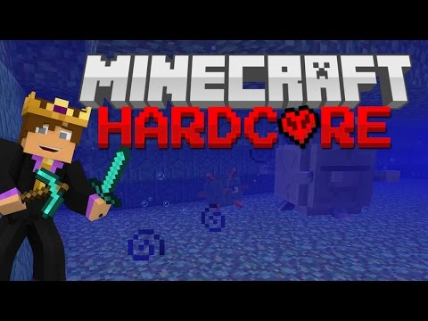 Hardcore Minecraft Survival #59 - OCEAN MONUMENT BOSS BATTLE!