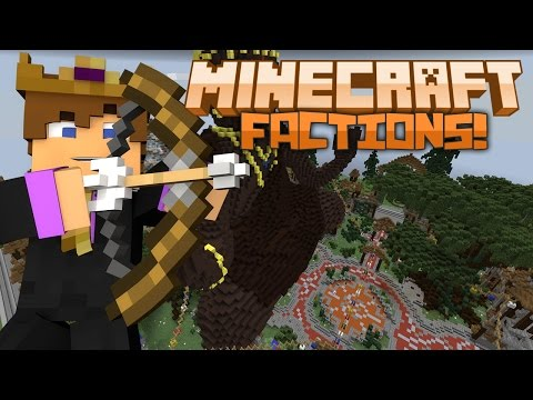 Minecraft: FACTIONS SERVER #1 - A WILD PVP BATTLE! [BetterPVP]