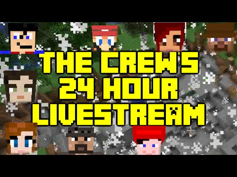 Minecraft - 24 Hour Live Stream THIS FRIDAY April 17th