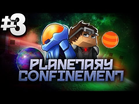 Minecraft Planetary Confinement #3 | STILL HUNGRY... - Vanilla Minecraft Mod Pack
