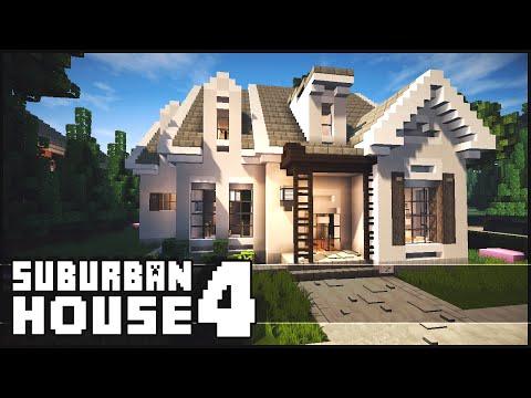 Minecraft - Suburban House 4