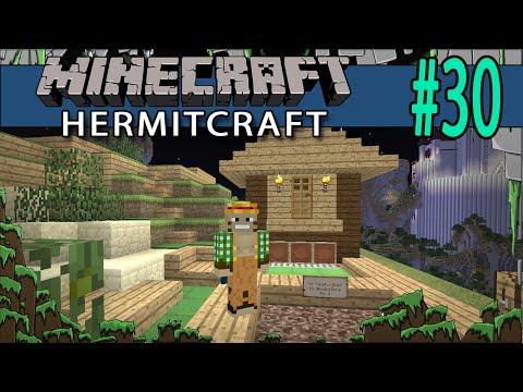 Minecraft Creating a Putt Putt w/ Zueljin! Hermitcraft #30