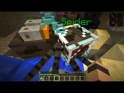 Etho's Modded Minecraft #23: Scuba Spider
