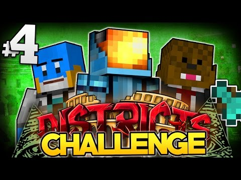 Minecraft The Districts SMP #4 | HUNGER GAMES CHALLENGE - Minecraft SMP