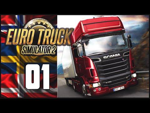 Euro Truck Simulator 2 - Ep.01 - Scandinavia DLC Adventure