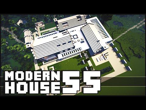Minecraft - Modern House 55
