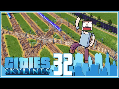 Cities Skylines - Ep.32 : Modular Train Station!