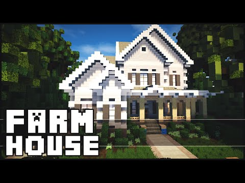 Minecraft - Beautiful Farm House