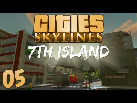 Cities Skylines 7th Island 05 Sewage Treatment Failure