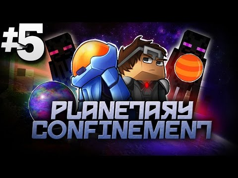 Minecraft Planetary Confinement #5 | ENDER PEARL HUNT! - Vanilla Minecraft Mod Pack