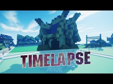 Minecraft - Medieval House Timelapse Build - Plot Time Lapse 2015