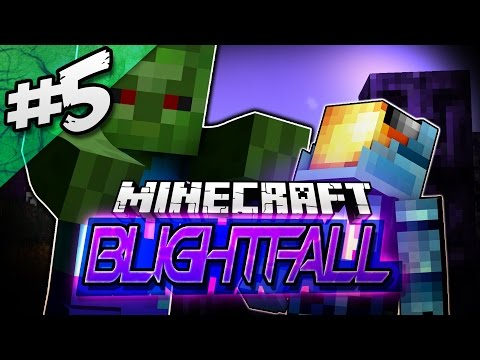 Minecraft BLIGHTFALL Modded Adventure #5 | FURIOUS ZOMBIE BOSS!? - Minecraft Mod Pack