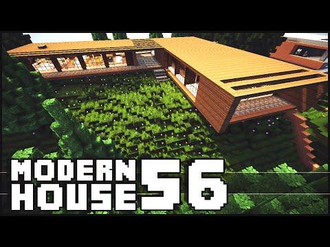 Minecraft - Modern House 56