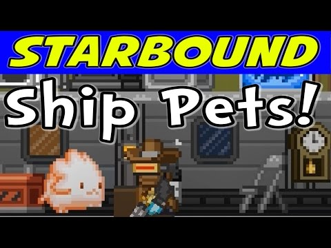 Starbound - E11 - New Pets! Teleporters! Planet Bookmarks! (1080p Gameplay / Walkthrough)