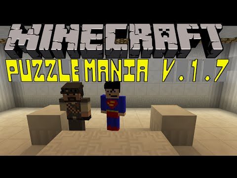 Minecraft Map - Puzzlemania - Part 1