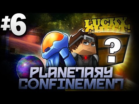 Minecraft Planetary Confinement #6 | THE LUCKY CHEST!? - Vanilla Minecraft Mod Pack