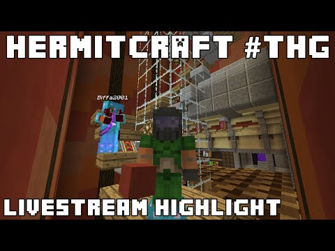 Hermitcraft #THG Biffa Gets Lucky (Livestream Highlight)