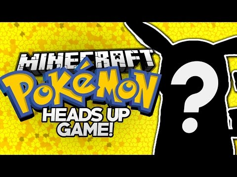 Minecraft | Heads Up! - WHO'S THAT POKEMON!? (Custom Minecraft Mini-Game)