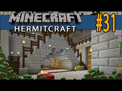 Minecraft Minecart Collection System - Hermitcraft #31