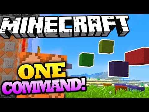 Minecraft | PARKOUR BUILDER | Only One Command - EASY DIY Parkour! | Vanilla Minecraft