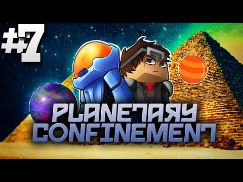 Minecraft Planetary Confinement #7 | THE MYSTERIOUS PYRAMIDS! - Vanilla Minecraft Mod Pack