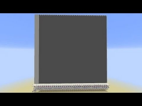 Minecraft: WORLD BIGGEST DOOR! 216 x 216