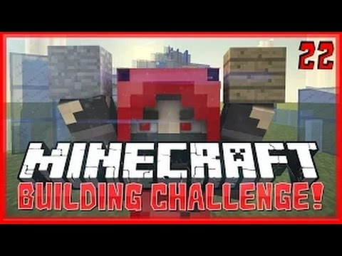 Minecraft: GLASS ONLY Build Challenge!