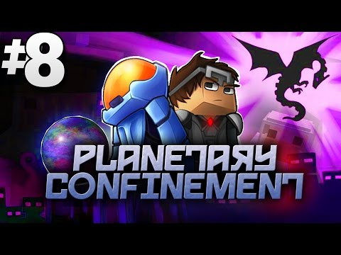 Minecraft Planetary Confinement #8 | UNEXPECTED BOSS FIGHT!? - Vanilla Minecraft Mod Pack