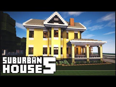 Minecraft - Suburban House 5