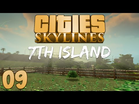 Cities Skylines 7th Island 09 New Homes