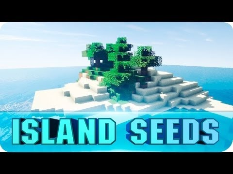 Minecraft Seeds:TOP 10 Survival Island Seeds! The Best Islands for Minecraft 1.8.4