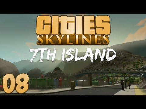 Cities Skylines 7th Island 08 Specialist Islands